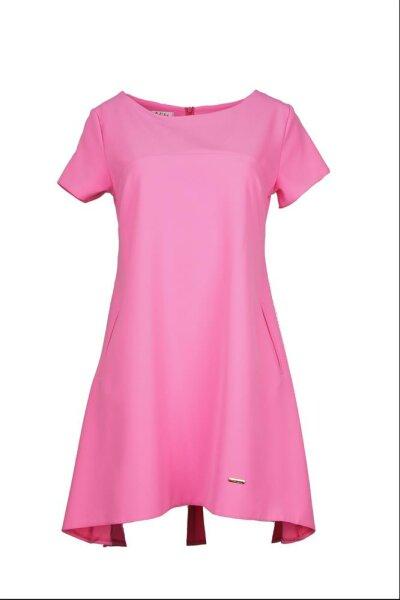 Kleid in A-Linie Kurzarm PM44106