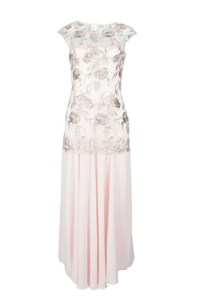 Wadenlanges Abendkleid / Spizte PM55993