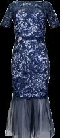 Abendkleid 2-in-1 Kleid und Rock