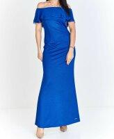 Abendkleid Figurbetont mit Carmen Ausschnitt PM62528