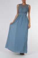 Damen Rückenfreises bodenlanges Abendkleid 8985
