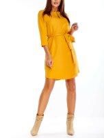 Gerade geschnittenes Hemd-Kleid PM81171  inkl.Gürtel