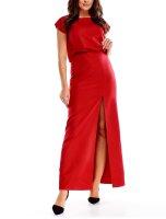 Abendkleid Elegant Maxikleid mit Schlitz PM73594