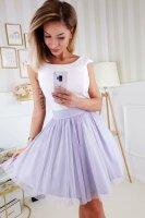 Kleid mit Tüllrock und Gürtel PM78021