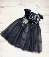 Festliches Mädchenkleid mit Pailetten